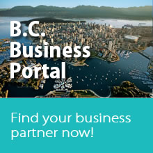 Banner - Business Portal British Columbia