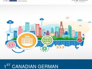 1st Canadian German Conference on Smart Cities