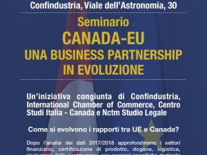 Canada – EU Seminar: An Evolving Business Partner