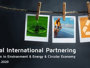 4th Edition of Virtual International Partnering Event for Innovation in Environment, Energy & Circular Economy!