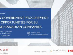 Webinar: CETA & Government Procurement!