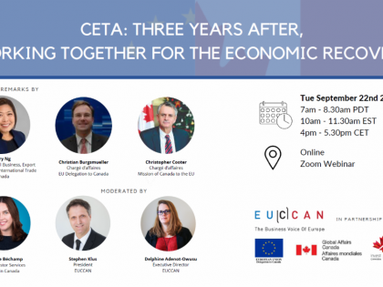 CETA: Canada-EU Collaboration For The Economic Recovery