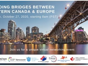 "VIRTUAL NETWORKING EVENT – ""Building Bridges between Western Canada & Europe"""