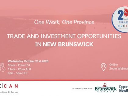 Trade & Investment Opportunities in New Brunswick!