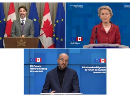 EEN-Canada's Acknowledgment at the Virtual meeting between EU's and Canada's Leaders!