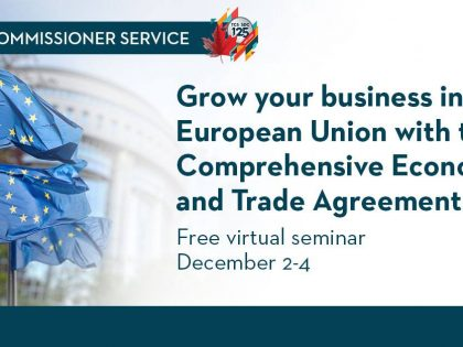 Grow Your Business in the European Union with CETA!