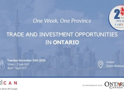 Trade & Investment Opportunity in Ontario!