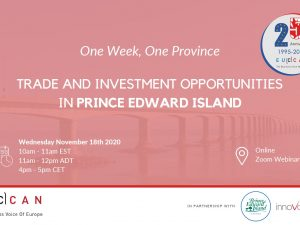 Trade Investment Opportunity in Prince Edward Island!
