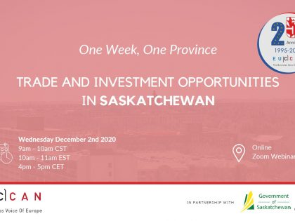 Trade Investment Opportunity in Saskatchewan!