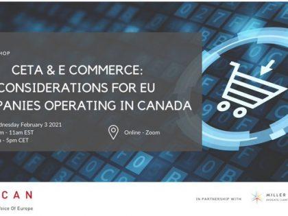 CETA & E-Commerce: Considerations for EU Companies operating in Canada!