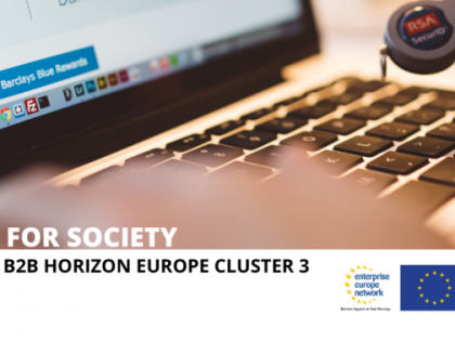 Virtual partnering brokerage Horizon Europe Cluster 3 – Civil Security for Society