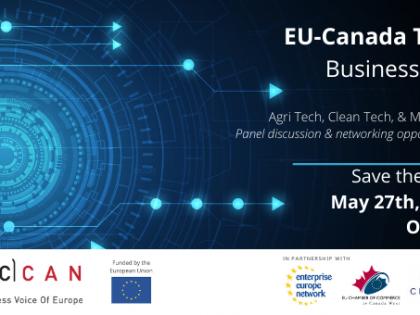 EU – Canada Tech Business Day!